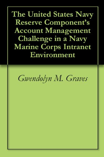 The United States Navy Reserve Component's Account Management Challenge in a Navy Marine Corps Intranet Environment