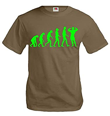 buXsbaum T-Shirt The Evolution of bodybuilding