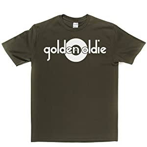 Golden Oldie T-shirt (militarygreen/white xxlarge)