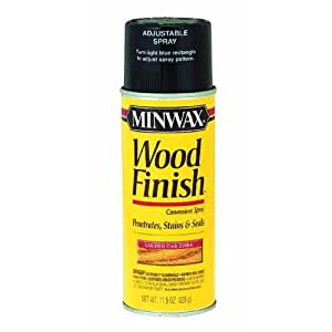 Minwax 32350 11 5 Ounce Wood Finish Wood Stain Aerosol Spray Cherry Spray Paints