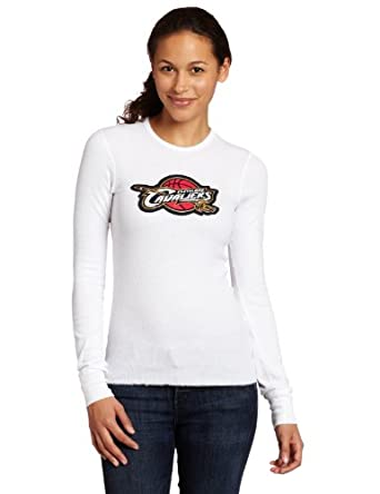 Majestic Threads Cleveland Cavaliers Baby Thermal, White by Majestic Threads