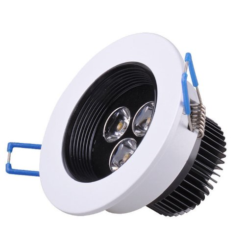 Domire White High Quality Led Day White 3W Recess Downlight Ceiling Lamp Replace 25W Incandescent Bulb Energy Efficient Lights