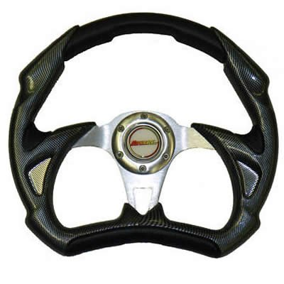 SuperATV SW120-BLACK/SWA-RAN SW120 Steering Wheel 