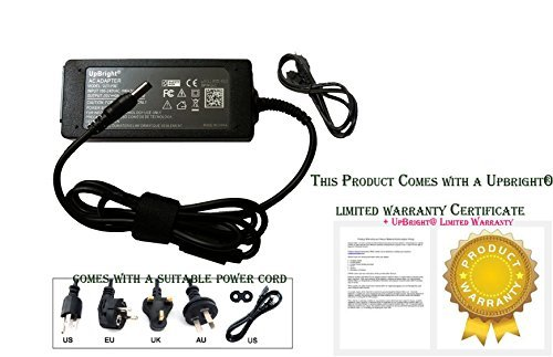 UpBright NEW Global AC / DC Adapter For Media-To-Go Popcorn Hour A-110 Digital HD Media Streamer Power Supply Cord Battery Charger PSU (Total 8FT Cable) (Popcorn Hour A110 compare prices)
