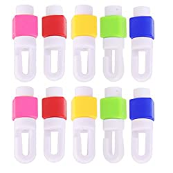 Imported Earphone Headphone Cable Winder Anti Breaking Protective Sleeve for 10 pcs