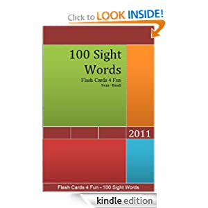 100 Sight Words - Flash Cards 4 Fun