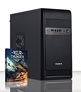 VIBOX Basics 2 - Cheap, Home, Office, Family, Gaming PC, Multimedia, Desktop PC, Computer with WarThunder Game Bundle (New 2.8GHz Intel, Celeron Dual-Core Processor, 1GB Nvidia GT 610 Graphics Card, 500GB HDD Hard Drive, 8GB 1600MHz RAM, No Operating System)