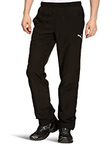 PUMA Herren Hose Big Logo Pants Open, Black, XL, 819310 01
