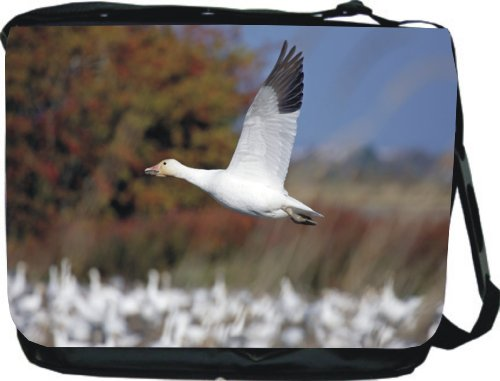 Bird in Flight Design Messenger Bag - Book Bag - Reporter Bag - Unisex - Ideal Gift for all occassions!