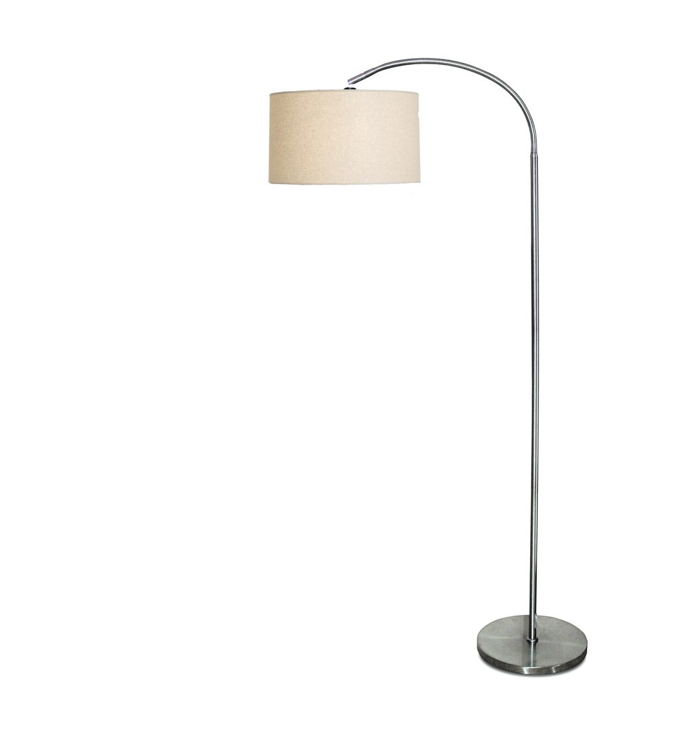 Daylight Company Vogue Floor Lamp, Brushed Chrome       review and more news