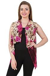 Mojeska Women Printed Loose Fit Multiwear Cover up Dress