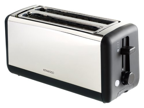 Kenwood TTM920 Stainless Steel 2 Slot 4 Slice Chrome Toaster by KENWOOD