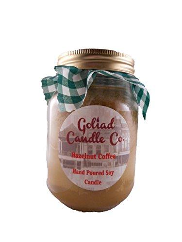 Hazelnut Coffee 16Oz Hand Poured Soy Candle