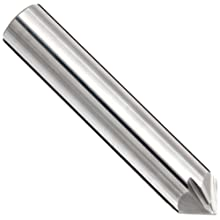 "Melin Tool CCMG Carbide Micro Square Nose End Mill, AlTiN Monolayer Finish, 30 Deg Helix, 4 Flutes, 1.5000"" Overall Length, 0.0140"" Cutting Diameter, 0.125"" Shank Diameter"