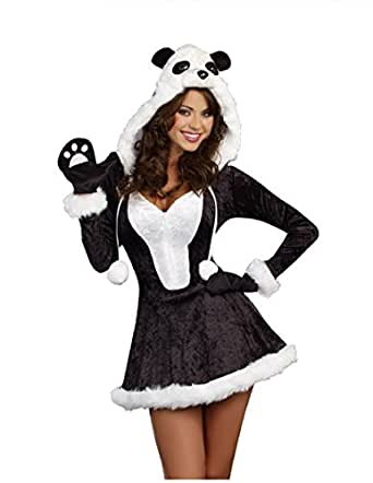 Pretty Panda Womens Halloween Costume By Royal Costumes