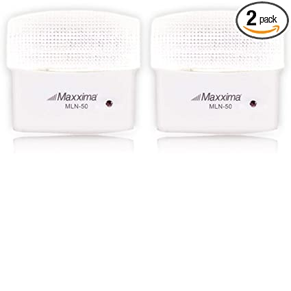 Maxxima MLN-50 5 LED Night Light With Sensor (Pack of 2)
