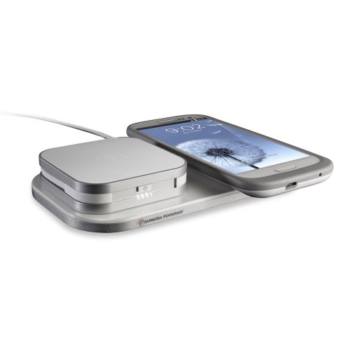 Duracell Powermat 24-Hour Power System for Samsung Galaxy S III - Retail Packaging - White (Duracell Charging Pad compare prices)