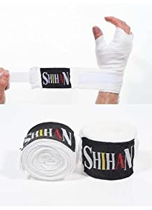 Boxing Handwraps Cotton with Velcro- NEW [Misc.]