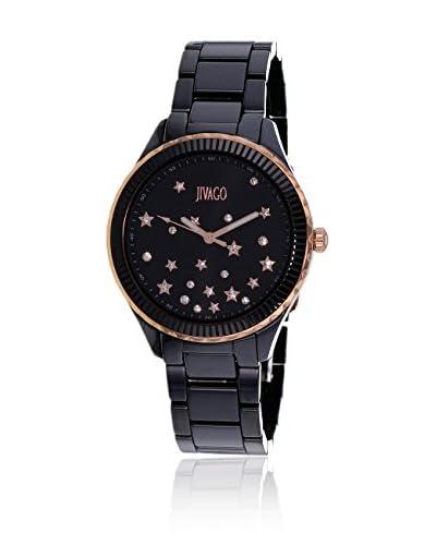 Jivago Reloj de cuarzo Jv2413 Sky Negro 38  mm