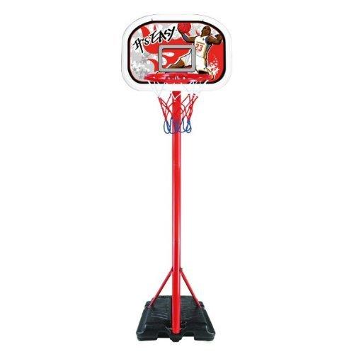 Fun & Leisure Junior Basketball Set *3 Piece* Hoop Stand Ball Pump OUTDOOR FUN by Fun & Leisure online bestellen