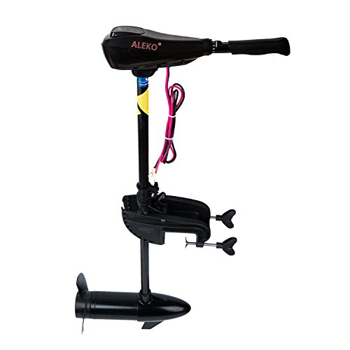 ALEKO® TRM-L-60 60-62 LBS Thrust 12V Trolling Electrical Motor 5-Speed Forward 3-Speed Reverse