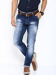 Showoff Men's Slim Fit Casual Denim Jeans