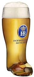 Hofbrauhaus Munich Munchen Glass German Beer Boot 1 L
