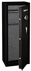 SentrySafe G1455E Electronic Lock Safe, Black Powder Coat, 14-Gun Capacity