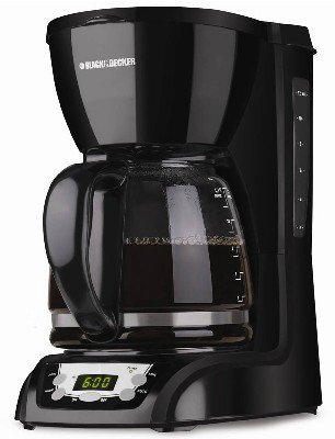 Black & DecKer 12 Cup Programmable Sneak-A-Cup Coffeemaker