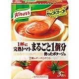 クノール カップスープ(3袋入) 完熟トマトまるごと1個分使ったポタージュ 1ケース10×6