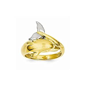 best birthday gift 14k two tone polished