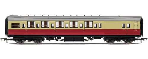 Hornby R4346C BR Maunsell 6 Compartment 3rd Class Brake Coach Rolling Stock (High Window)