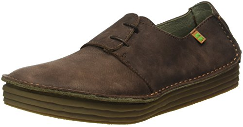 El Naturalista NF80 Pleasant Rice Field, Scarpe Stringate Donna, Marrone (Brown N12), 39 EU