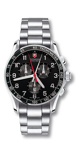 Victorinox Swiss Army Men's 241199 Classic XLS Black Dial Watch