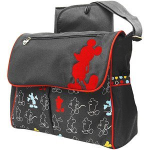 Disney - Mickey Mouse In The House Compact Messenger Diaper Bag front-91391