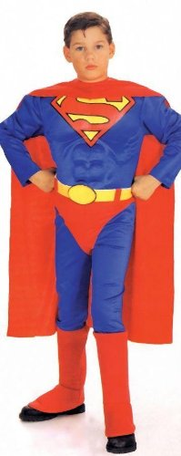 Costumes For All Occasions Af142Sm Superman Child W Chest Small