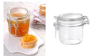 12 Pack of 200g (7 Oz) Fido Hermetic Terrine Canning Storage Jars