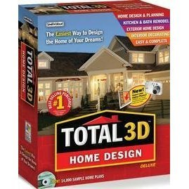 Total 3D Home Design Deluxe 9 (Total 3d Home Design Software compare prices)