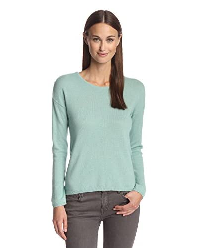 Kier & J Women's Buttoned Shoulder Sweater