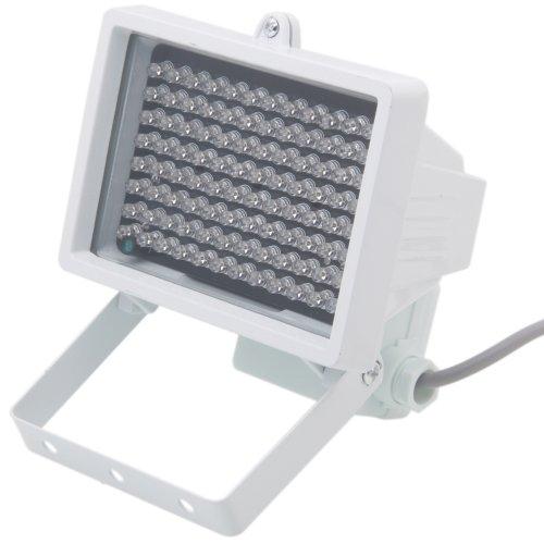 Night Vision Infrared Flood Light Built-In 96-Led For Cctv Camcorders, Digital Cameras, White