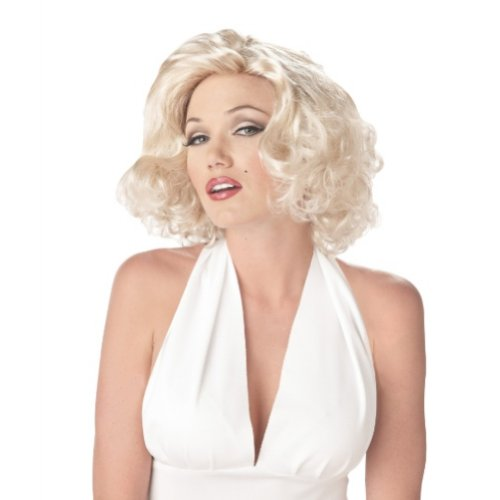 California Costume Womens Sexy Platinum Blonde Marilyn Monroe Wig