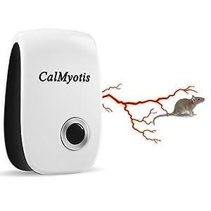 Repelente de Pestes Ultrasónico  CalMyotis, repele, ratones, ratas, cucarachas, arañas, roedores y otros insectos