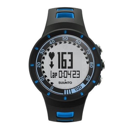 Suunto numérique Montre Mixte-Cadran Bleu SS019159000