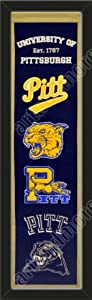 Heritage Banner Of Pittsburgh Panthers-Framed Awesome & Beautiful-Must For A... by Art and More, Davenport, IA