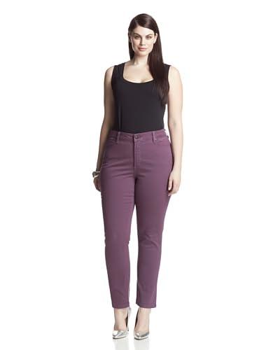 NYDJ Women's Plus Sheri Skinny Jean
