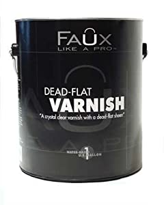 Dead-Flat Varnish - Quart