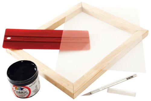 Speedball Basic Screen Printing Kit For Stencil Method