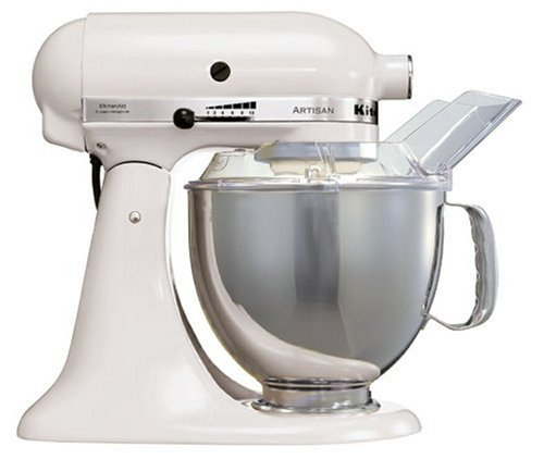 KitchenAid Artisan KSM150PS-BWH Stand Mixer White from Kitchen Aid