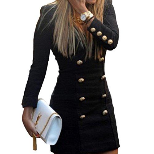 womens-dress-amlaiworld-new-women-slim-long-sleeve-buttons-casual-bodycon-cocktail-mini-dress-s-blac