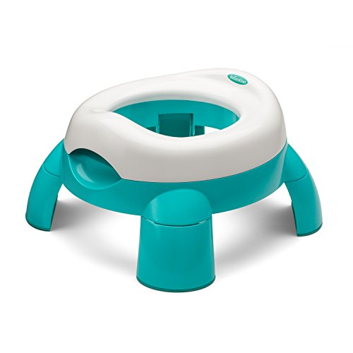Infantino Up and Go Compact Travel Potty, Teal - 1